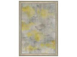Paragon Nai ''Abstract in Yellow'' Wall Art