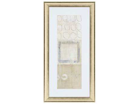 Paragon Becher ''Circle Square Panel I'' Wall Art