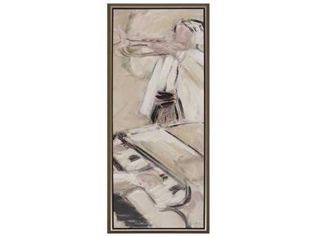 Paragon Barton ''Music III'' Painting