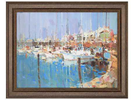 Paragon Jarvis ''Harbor Morning'' Wall Art