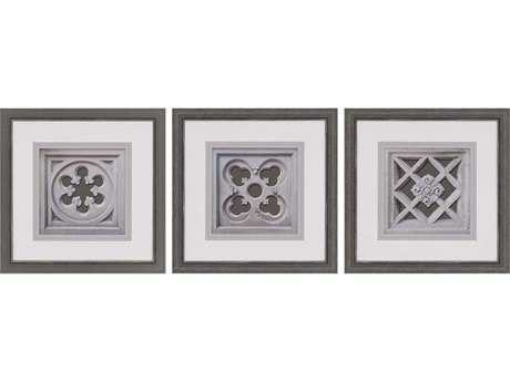Paragon Sikes Set of 3 ''Detailed Motif '' Wall Art