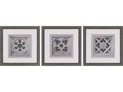 Paragon Sikes ''Detailed Motif '' Wall Art (Pack of 3)