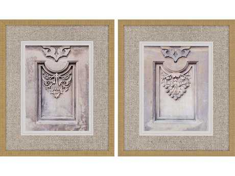 Paragon Sikes Set of 2 ''Central Park Motif '' Wall Art
