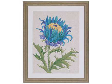 Paragon Zarris Teal Botanical I Wall Art