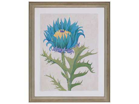 Paragon Zarris Teal Botanical II Wall Art