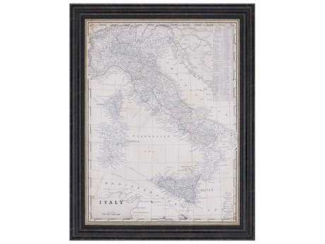 Paragon Vision Studio Antique Map of Italy Wall Art