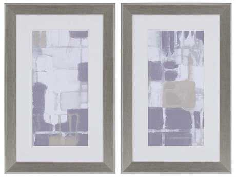 Paragon Goldberger Quadrants II Wall Art (Two-Piece Set)