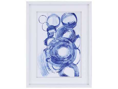 Paragon Fuchs Blue Circle Study II Wall Art