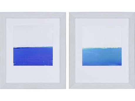 Paragon Bishop Open Blue Wall Art (Two-Piece Set)