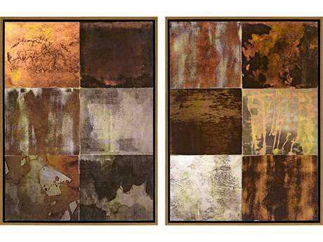Paragon Duncan Set of 2 ''Burnished I '' Wall Art