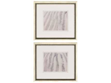 Paragon Sikes Set of 2 ''Sand Stripes I '' Wall Art