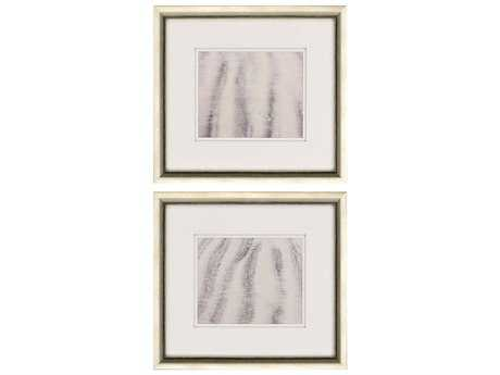 Paragon Sikes Set of 2 ''Sand Stripes II '' Wall Art