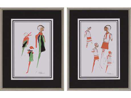 Paragon Christian Set of 2 ''Fashion I '' Wall Art