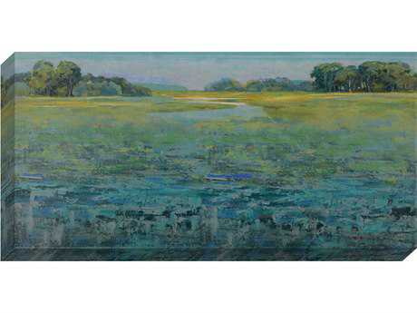 Paragon Duncan ''Evergreen Lowlands'' Painting