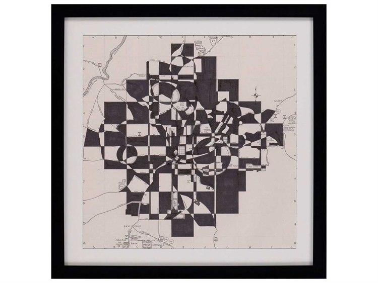 Paragon Galapon \'\'Modern Map of Atlanta\'\' Wall Art | PAD3827
