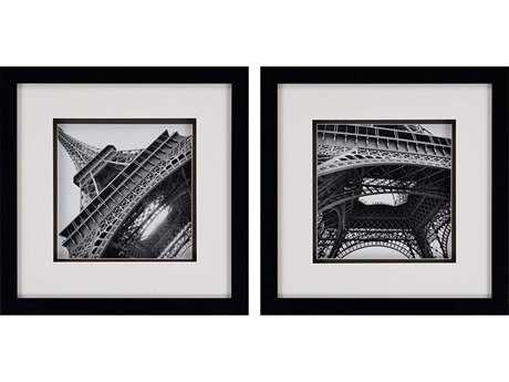 Paragon Navas Set of 2 ''Eiffel Views'' Wall Art
