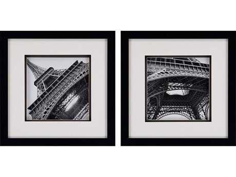 Paragon Navas Set of 2 ''Eiffel Views'' Wall Art