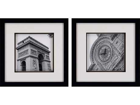 Paragon Navas Set of 2 ''Paris Views'' Wall Art