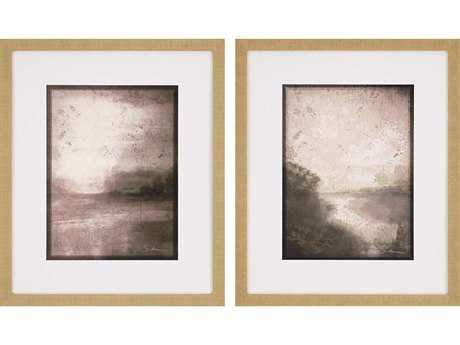 Paragon Sikes Set of 2 ''Neutral Dawn'' Wall Art