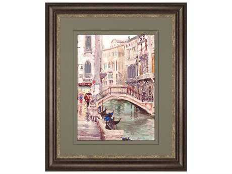 Paragon Kinkade Venice Canal Exclusive Giclee Painting