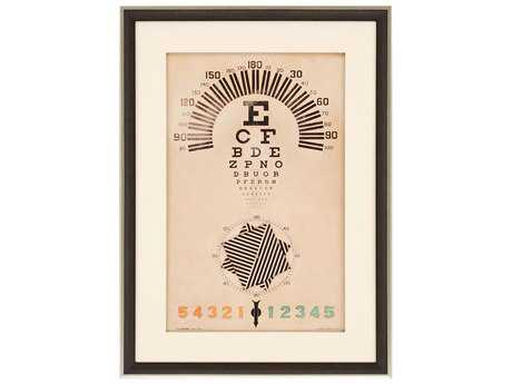 Paragon Burney Orthops Eye Chart Exclusive Giclee Painting