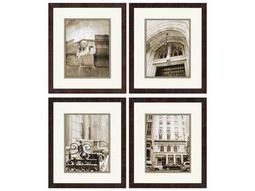 Paragon Sikes Manhattan Memories Exclusive Giclee Painting (Four-Piece Set)
