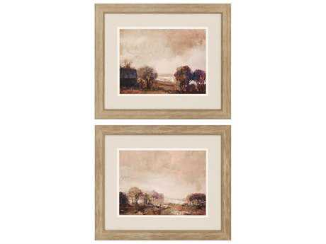Paragon Sikes Abandoned Farm Exclusive Giclee Painting (Two-Piece Set)
