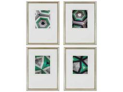Paragon Sikes Geometrics Exclusive Giclee Painting (Four-Piece Set)