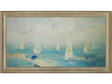Paragon Ridgers Ocean Play II Textured Giclee Painting