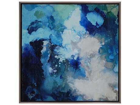 Paragon Hibberd Blu Flo Painting