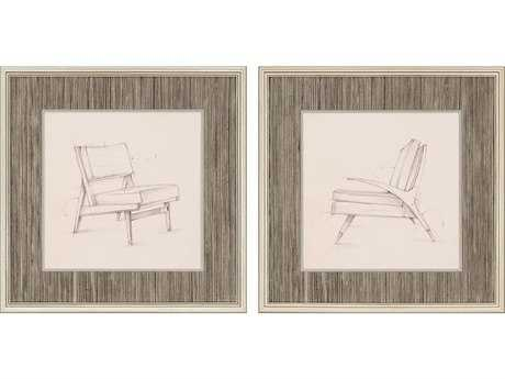 Paragon Harper Mid Century I Giclee Painting (Two-Piece Set)