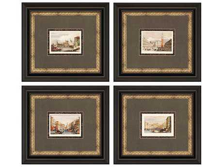 Paragon Prout Venice Painting (Four-Piece Set)