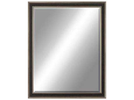Paragon Beveled 40 x 52 Aged Silver Wall Mirror