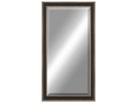 Paragon Beveled 34 x 76 Aged Silver Wall Mirror