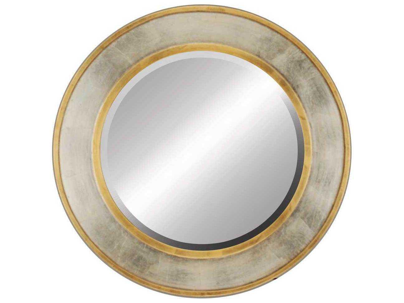 Gold Metal Wall Mirror: Paragon Contempo 37 X 49 Gold/Silver Gold & Silver Wall