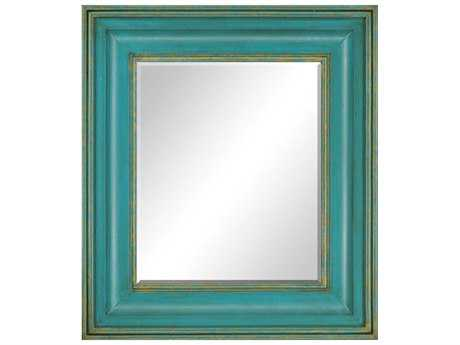 Paragon Enlightenment 32 x 36 Turquoise Wall Mirror