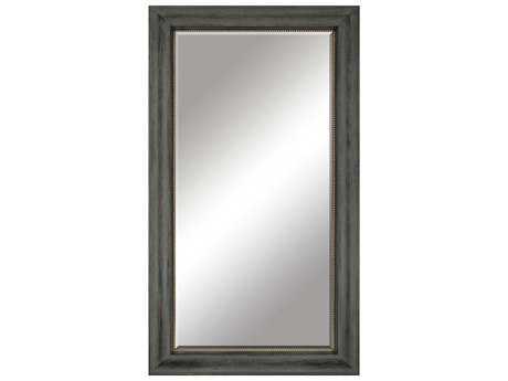Paragon Distressed Aged Barnwood 39 x 70 Floor Mirror