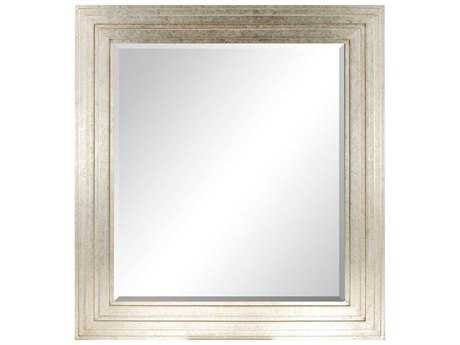 Paragon Nouvelle 43 x 47 Aged Silver Wall Mirror