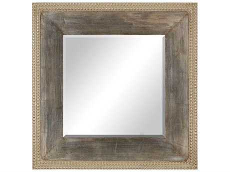Paragon Contemporary 26 x 26 Aged Silver Wall Mirror