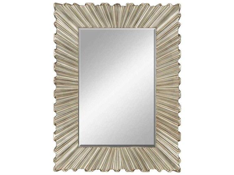 Paragon Bravado 36 X 48 Aged Silver Wall Mirror Pad8769