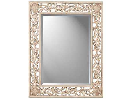 Paragon Whitewashed Coral 38 x 49 Wall Mirror