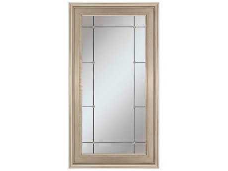 Paragon Regal 41 x 71 Antique Silver Etched Floor Mirror