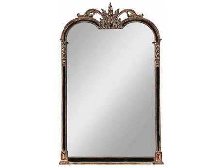 Paragon Napoleon 27 x 43 Black & Gold Wall Mirror