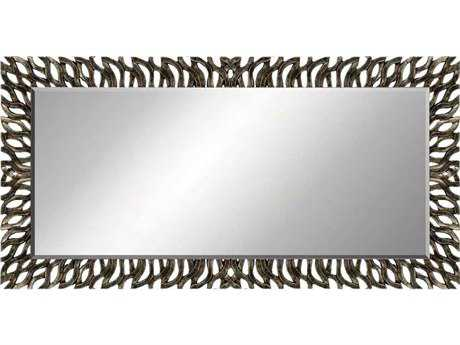 Paragon Zephyr 60 x 30 Aged Silver Wall Mirror