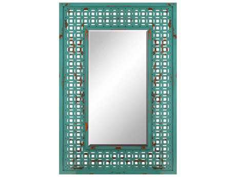 Paragon Screen 32 x 48 Turquoise Wall Mirror