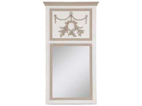 Paragon Classic Trumeau 26'' W x 48'' H Whitewash Wall Mirror
