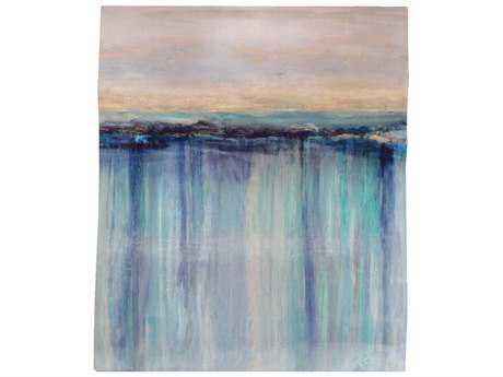 Paragon Duncan ''Shoal Wavy Shape'' Wall Art