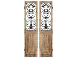 Paragon Rustic Doors 2 Panel Room Divider (Two-Piece Set)