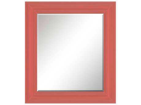 Paragon Sidestep 32'' W x 36'' H Coral Wall Mirror