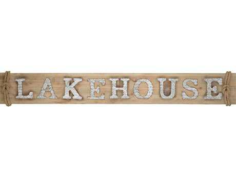 Paragon ''Lakehouse'' Wood Wall Art